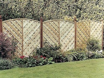 Elite St Lunairs Wooden Fence Panel - 1.8m (H)