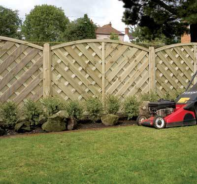 Elite St. Lunairs Wooden Fence Panel - 1.2m (H)