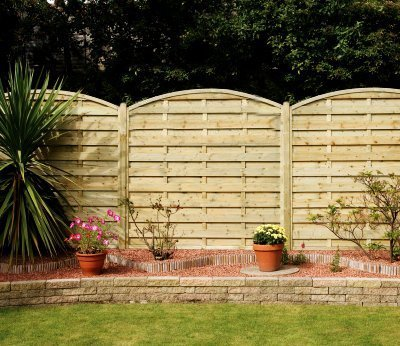 Elite St Carne Wooden Fence Panel