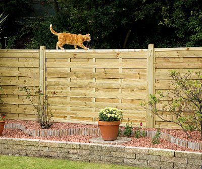Elite St Esprit Square Wooden Fence Panel - 1.2m (H)