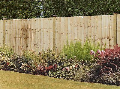 Professional Feather Edge Wooden Fence Panel