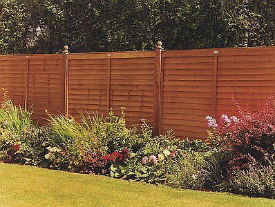 The Supafence Wooden Fence Panel