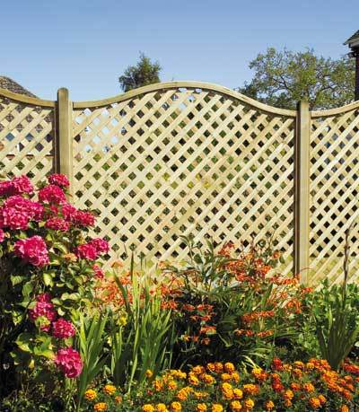 St Meloir Lattice Trellis