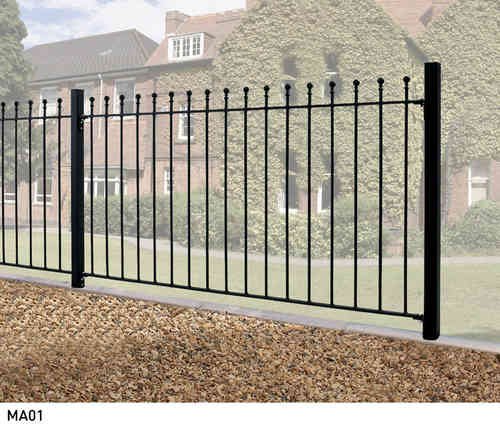 Manor Metal Fencing - 3ft High