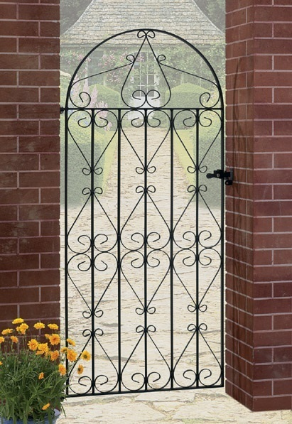 Regent Bow Top Tall Metal Side Gate