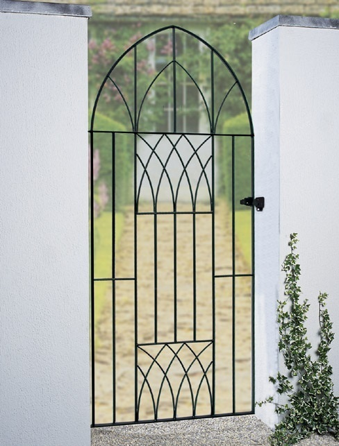 Abbey Bow Top Tall Metal Side Gate