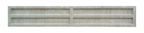 Litecast Recessed Gravel Board - 305mm High