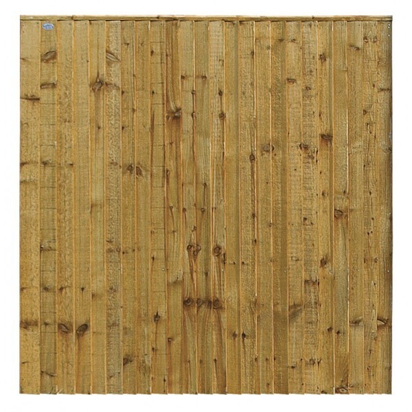 Weston Closeboard Wooden Fence Panel (Pressure Treated)