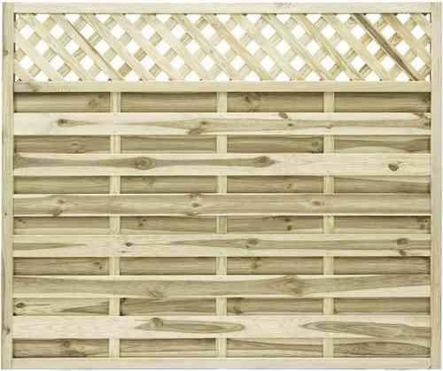 Elite St Malo Wooden Fence Panel