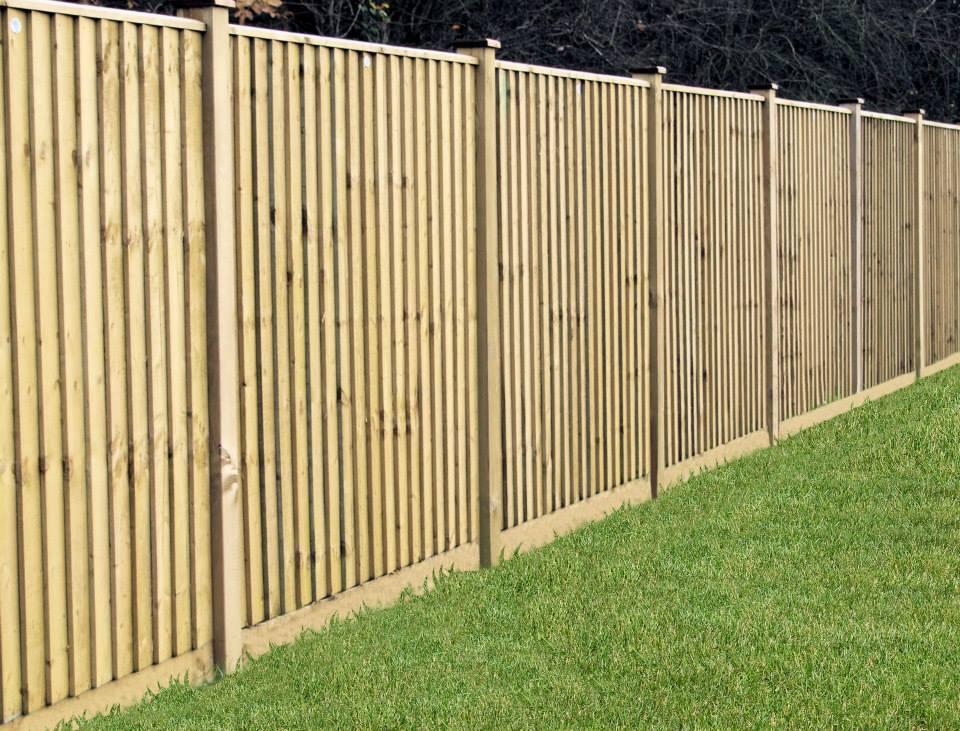 Grange feather edge fencing panels