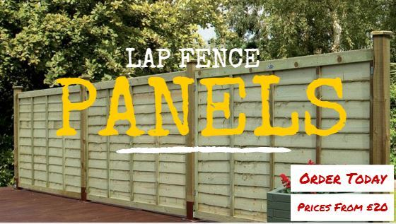 Lap Fence Panels. Buy Online Today. Prices from just £20
