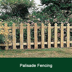 View Palisade Fencing Designs
