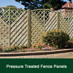 Continental Fence Panels
