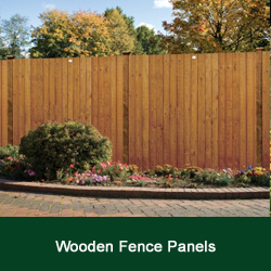 Buy Wooden Garden Fencing Panels